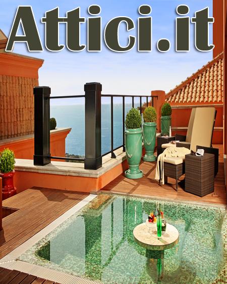 Arredamento Terrazzo Attico : Arredamento dell attico